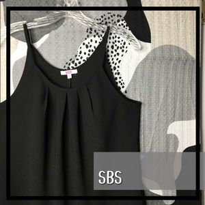 SES FASHION • Black Winter Weight Camisole